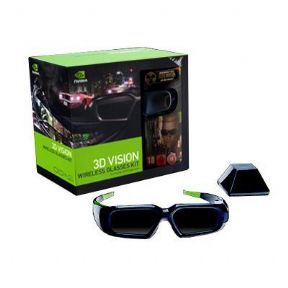 NVidia Geforce 3D Vision Glasses Kit - With Duke Nukem Forever Game Download